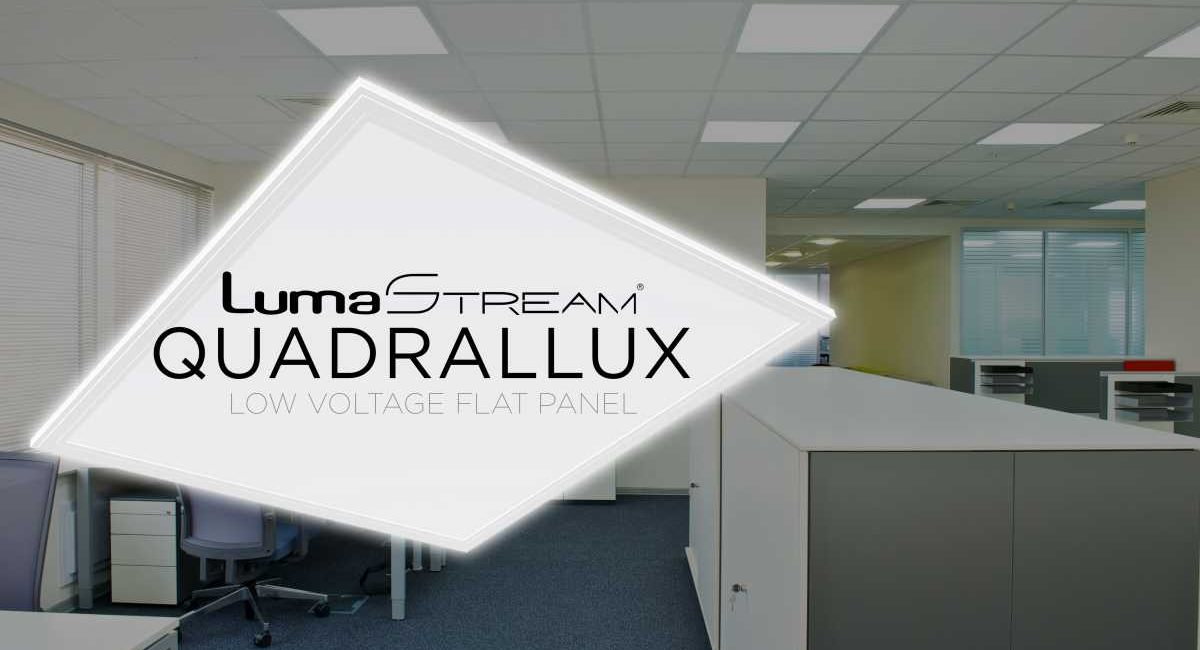 LumaStream Quadrallux EP22 Delivers LED Lighting from 'Ultra-low Profile'