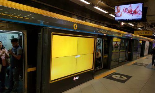 Sao Paulo Metro Yellow Line, AdMobilize technology, AI technology