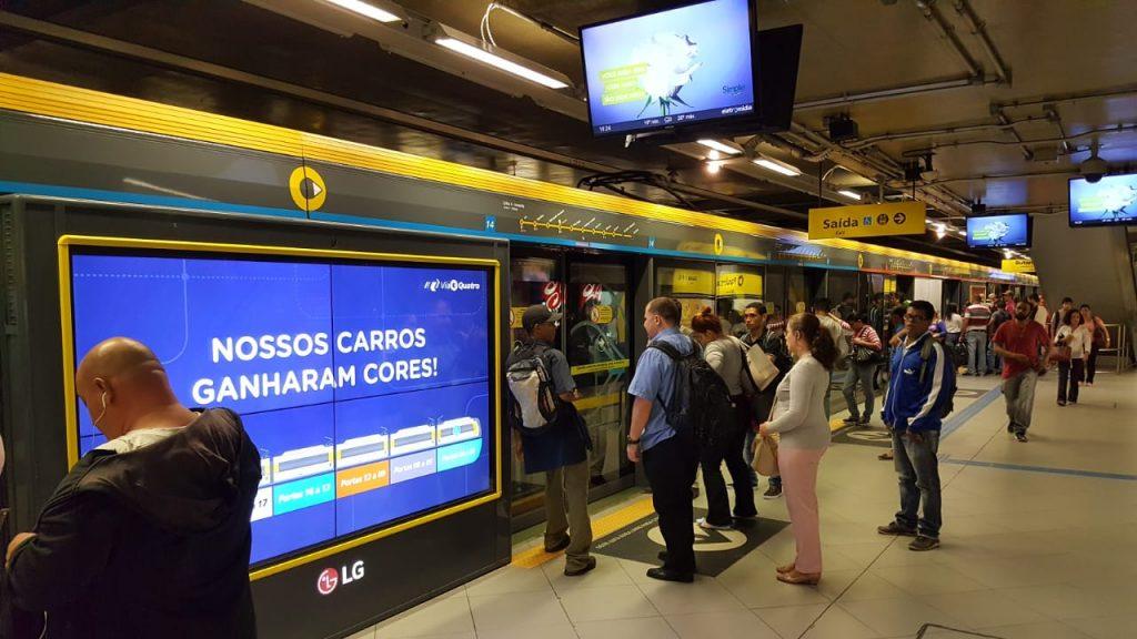 Sao Paulo Metro Yellow Line
