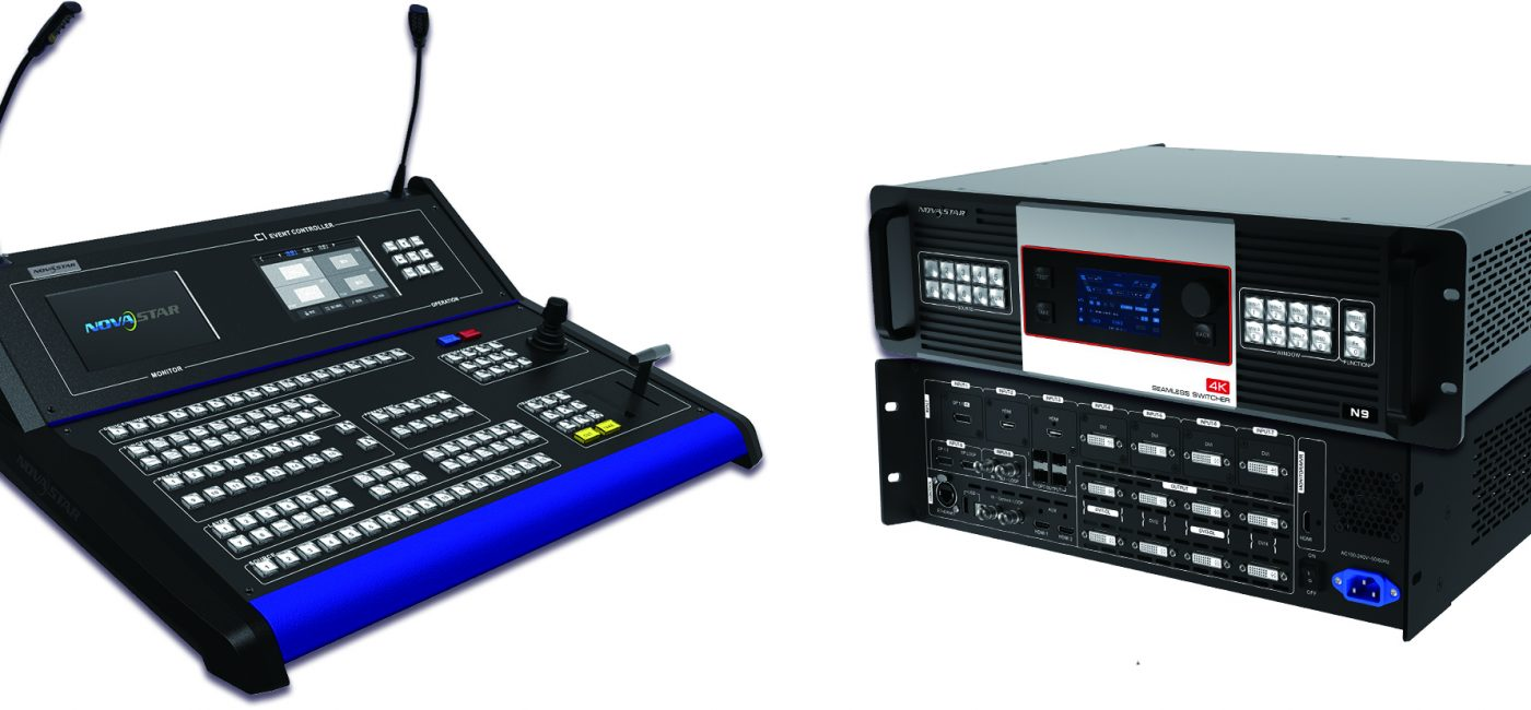NovaStar C1 Console Pairs with N9 Switcher for Stage Control