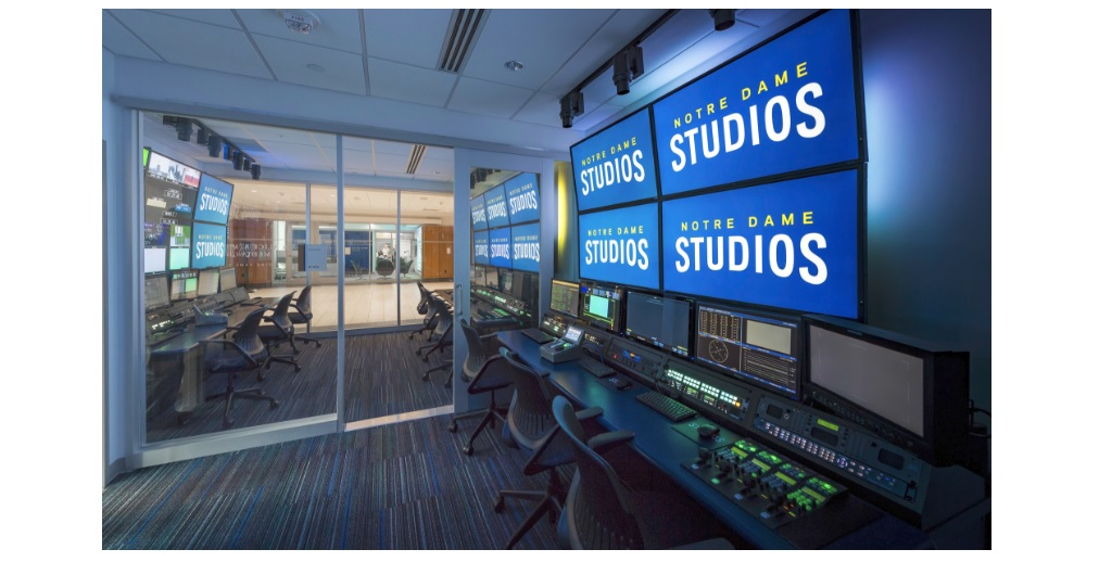 Notre Dame's Martin Media Center Goes All in on IP Routing