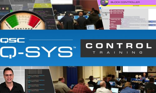 QSC Q-SYS Control Training Online and Classroom Announced