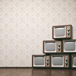 Vintage tv concept
