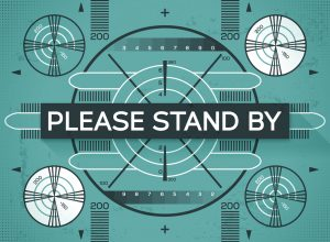 Please Stand By Test Screen