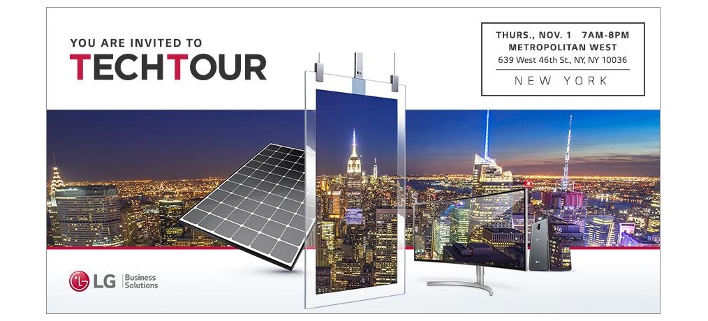 LG Tech Tour NYC Stop to Offer Northeast Education, CTS Credit, and More