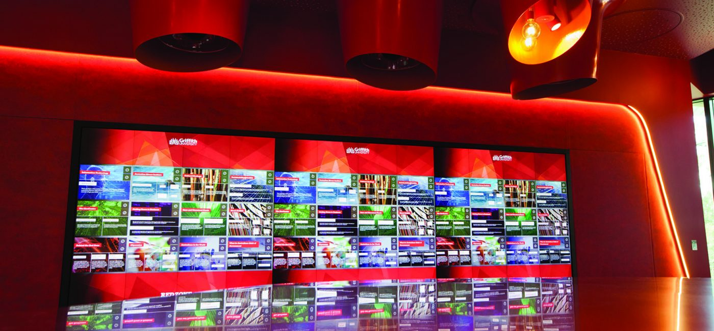 Harman Helps Griffith University's Red Zone Make Interactive Learning Spaces a Reality