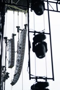 Boston Calling audio, L-Acoustics Soundvision software