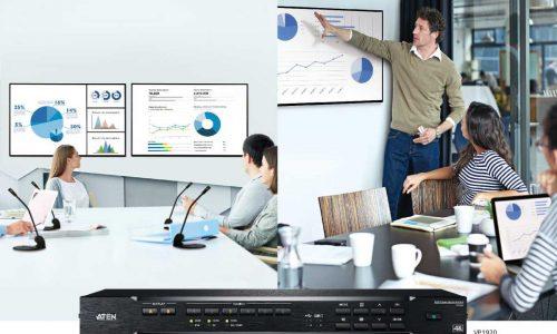 ATENVP2000 Collaboration Series, VP1000 Core Series, multi-in-one presentation switches