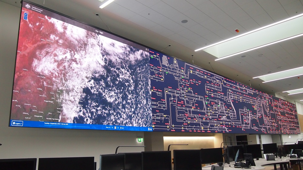 World's Largest Command and Control LED Display Is in Sydney