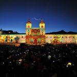 Fiesta de la Luz, Christie projection mapping, Christie Roadster