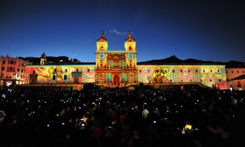 Fiesta de la Luz, Christie projection mapping, Christie Roadster
