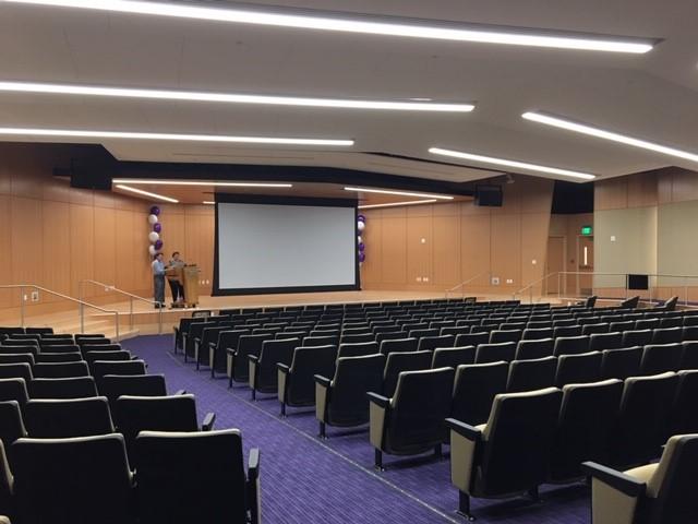 Stonehill auditorium