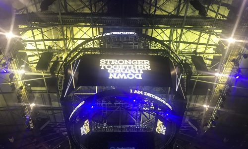Invictus Games Sydney 2018 laser projection Barco
