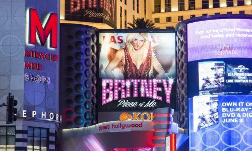 Britney Spears Las Vegas residency, PaintScaping