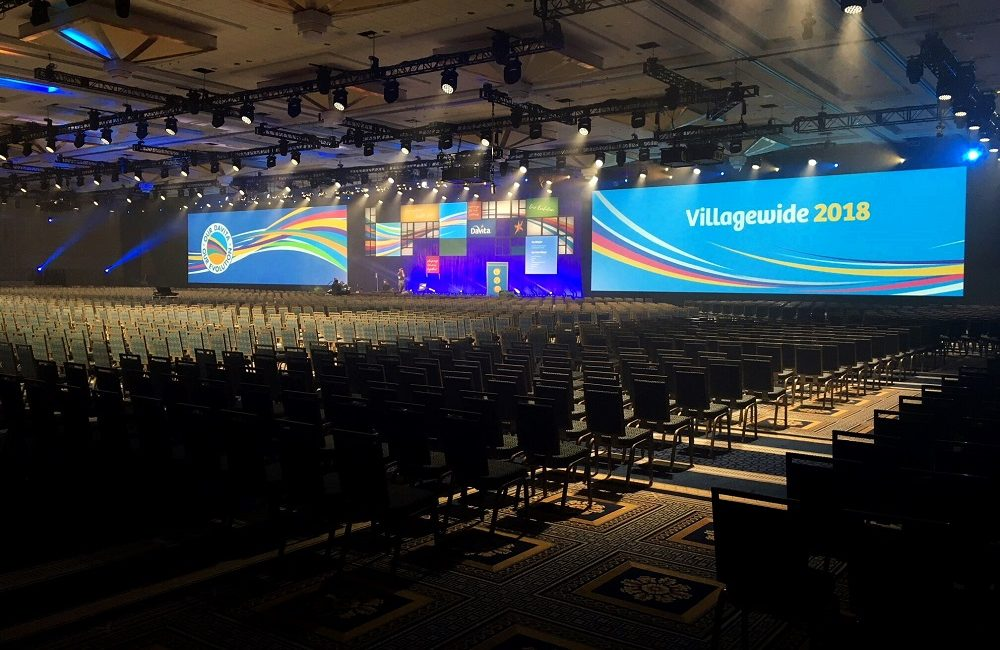 Christie Spyder X80 Processes Video Flawlessly for DaVita Villagewide Conference