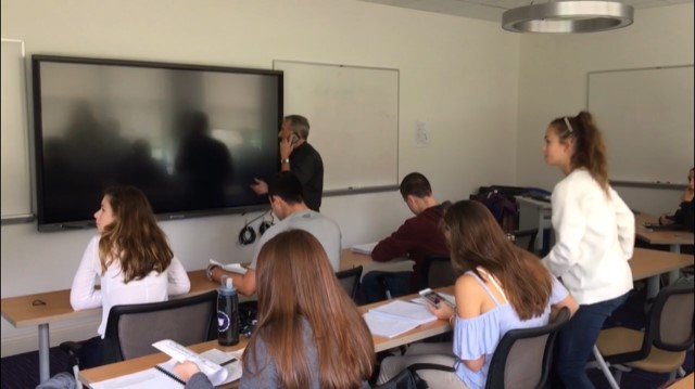 Stonehill classroom