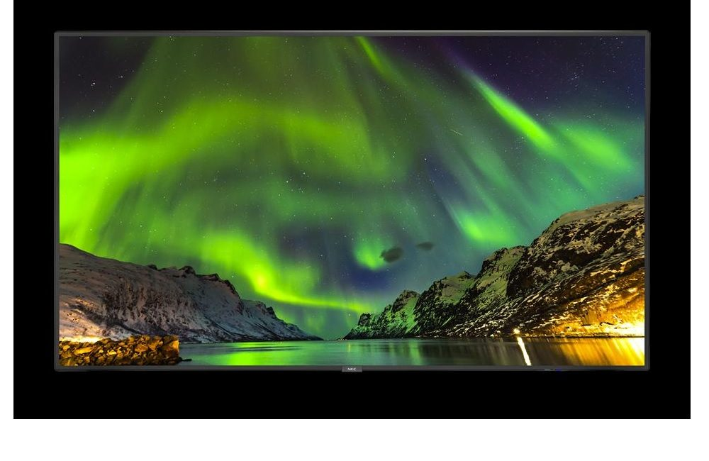 New NEC Display Solutions 65-inch Displays Are Thinner and Lighter