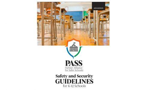 PASS 4th Edition Report Updates K-12 School Security Best Practices