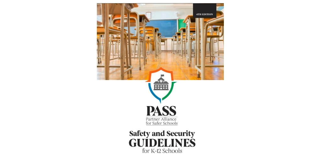 PASS 4th Edition Report Updates K-12 School Security Best Practices