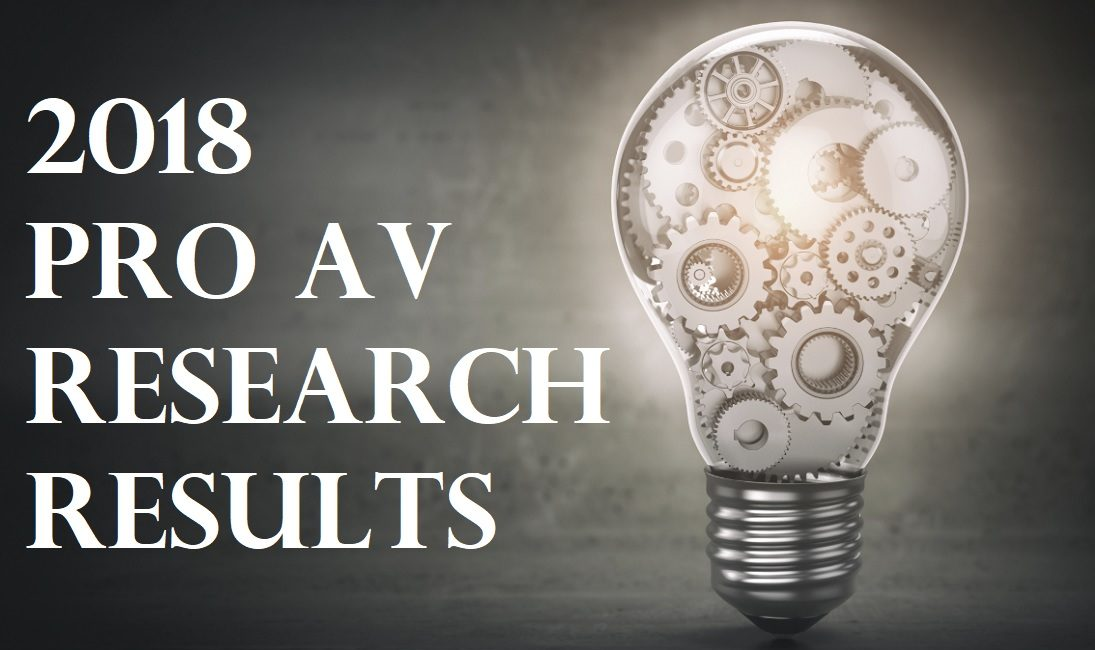 5 Pro AV Research Lessons to Help Your Business Strategize for 2019