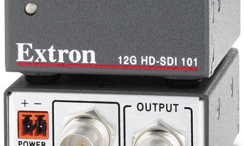 Extron Releases 12G HD-SDI 101 Cable Equalizer for Multi-Rate SDI Digital Video