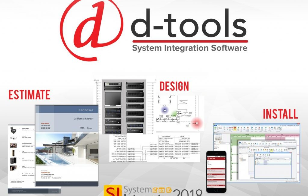 D-Tools Updates Operational Efficiency on System Integrator 2018 R2