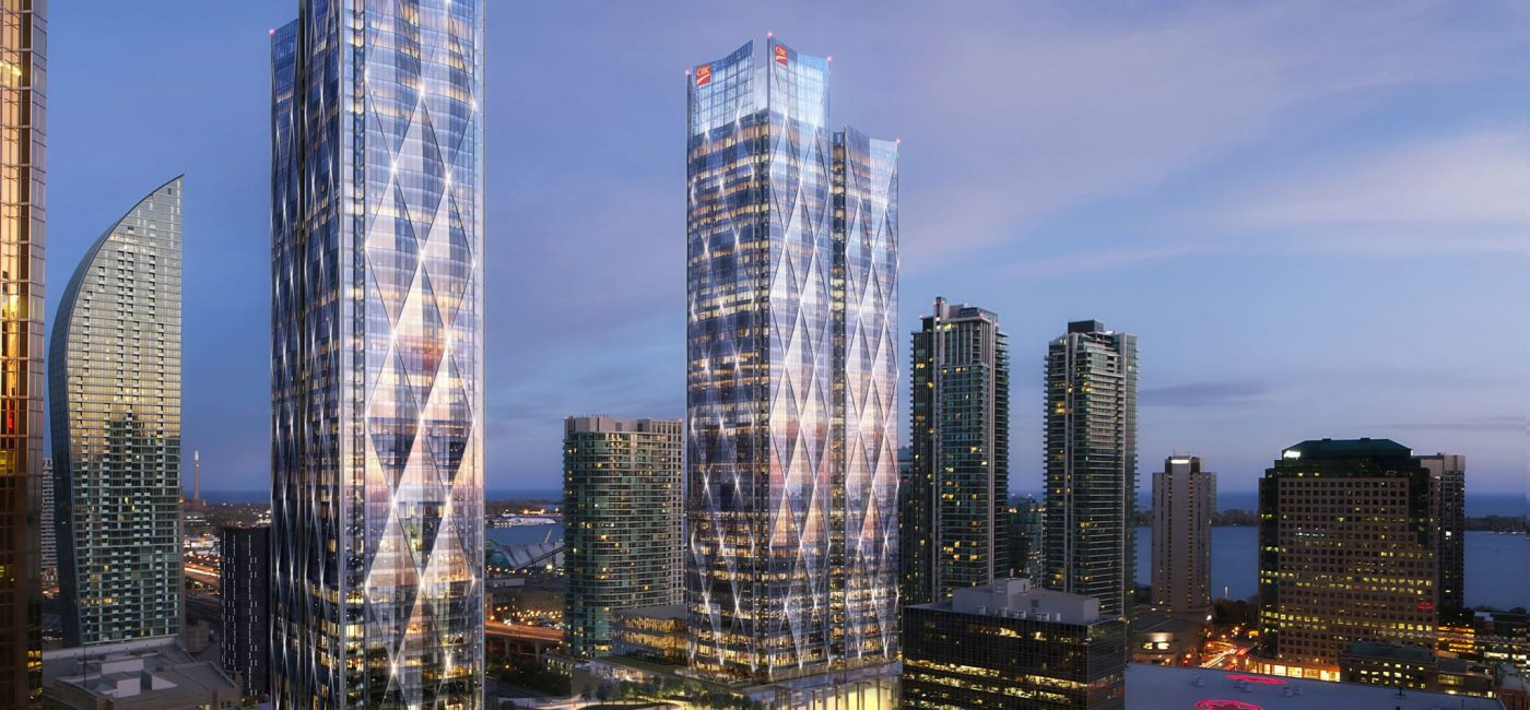 Toronto's CIBC Square Office Tower Complex Bringing Large Elevator Screens in 2020