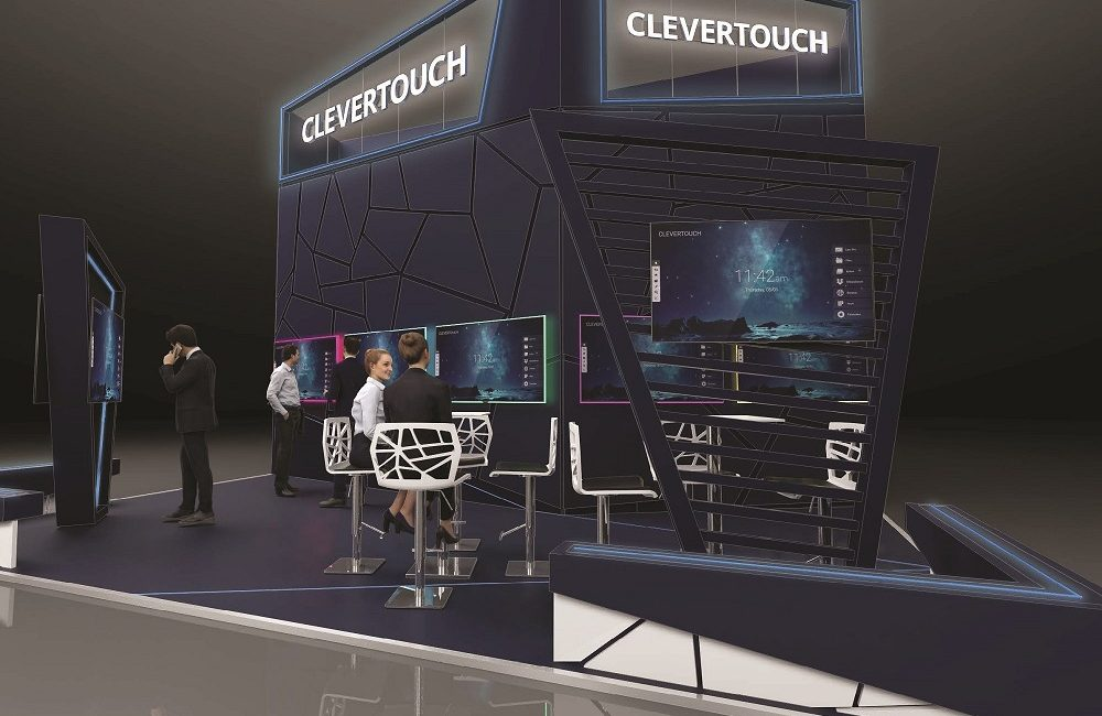 Clevertouch Enterprise Ecosystem for Agile Workplace Launches at ISE 2019