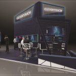 Clevertouch Enterprise Ecosystem at ISE resized, open office,