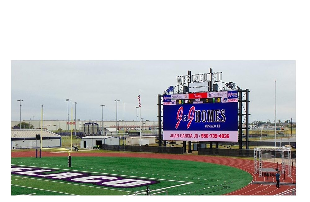 Here's the Largest LED Video Display in High School Sports