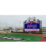 Daktronics Weslaco Texas largest LED video display Daktronics LED, Bobby Lackey Stadium