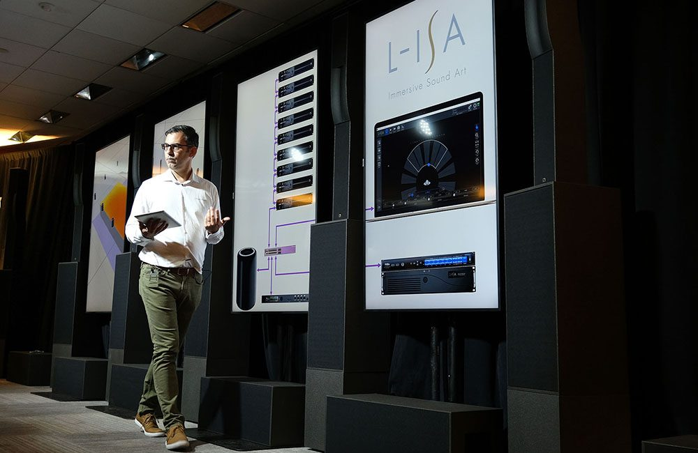 L-Acoustics NAMM 2019 Exhibit to Feature L-ISA Immersive Audio Demo