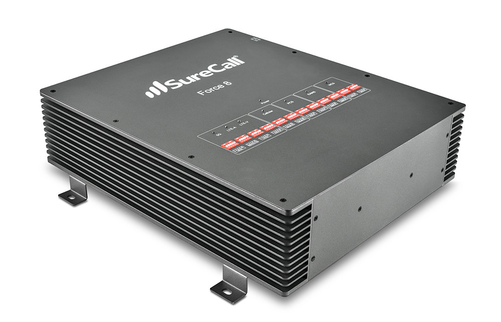 The Force8 5G Cell Phone Booster From SureCall Brings 5G Connectivity into Commercial Spaces