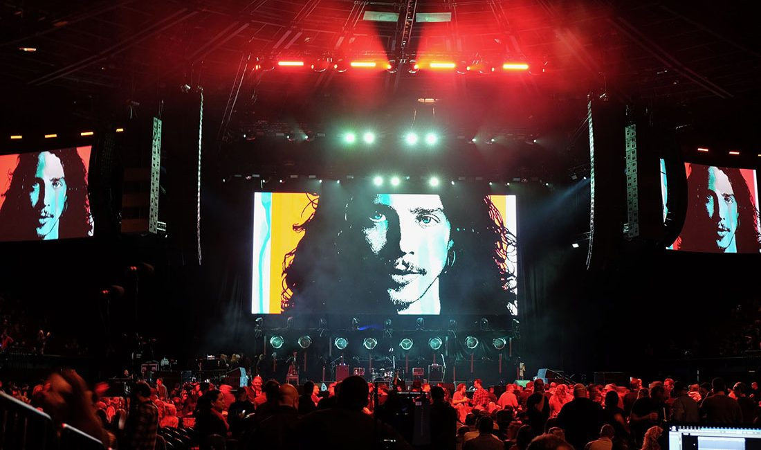 L-Acoustics K1/K2 Arrays Power A Tribute to Chris Cornell