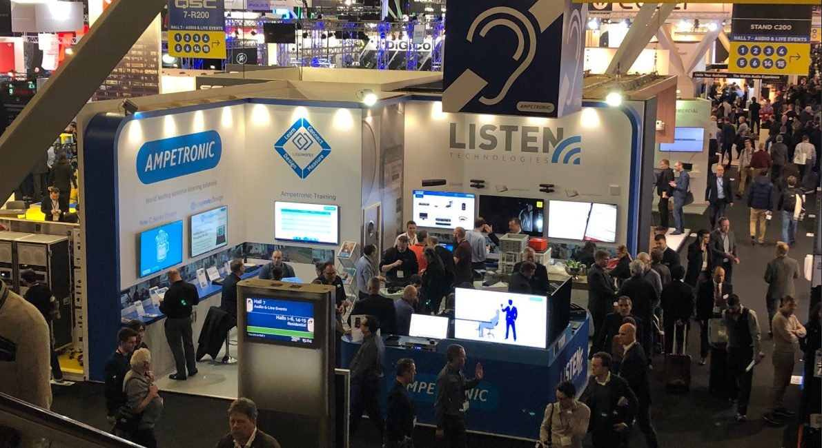 Listen Technologies Shows Listen EVERYWHERE, More at ISE 2019