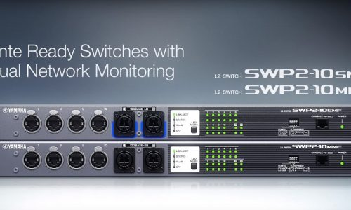 Yamaha SWP2 Series Network Switches, ISE 2019