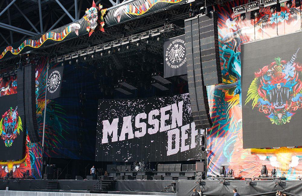 L-Acoustics, AVB Serve as Backbone for Punk Band Die Toten Hosen European Tour