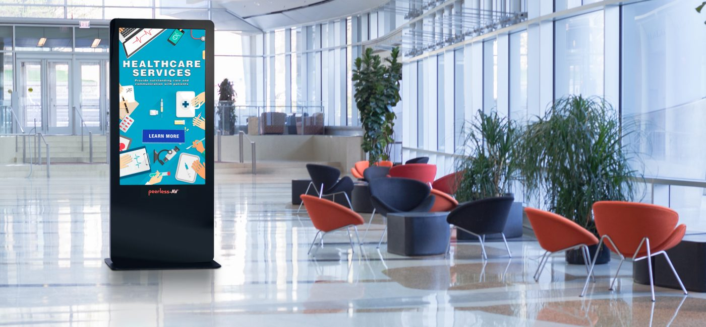 Peerless-AV Introduces Upgraded All-in-One Kiosk Powered by BrightSign