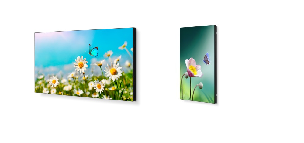 The 'UN' Stands for 'Ultra-Narrow' in NEC UN Series Displays for Video Walls