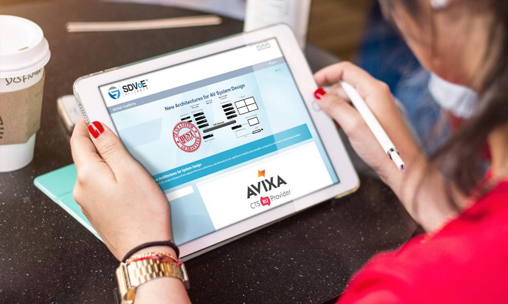 SDVoE Alliance Design Partner Program Approved for AVIXA CTS Renewal Units