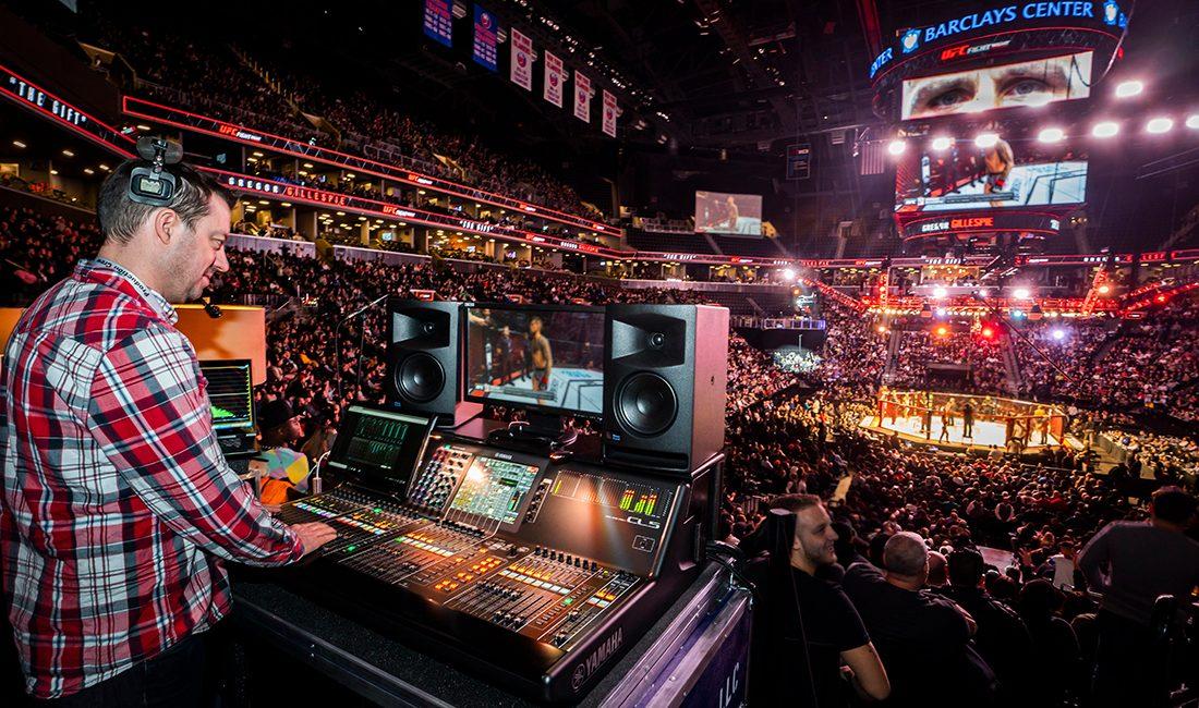 Meyer Sound Delivers Knockout Sound for UFC Events