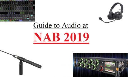 NAB 2019, audio products