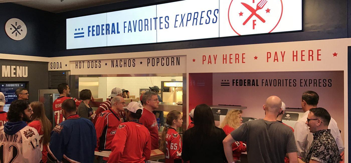 Capital One Arena Concession Stands Get Refresh Thanks to Ping HD and BrightSign