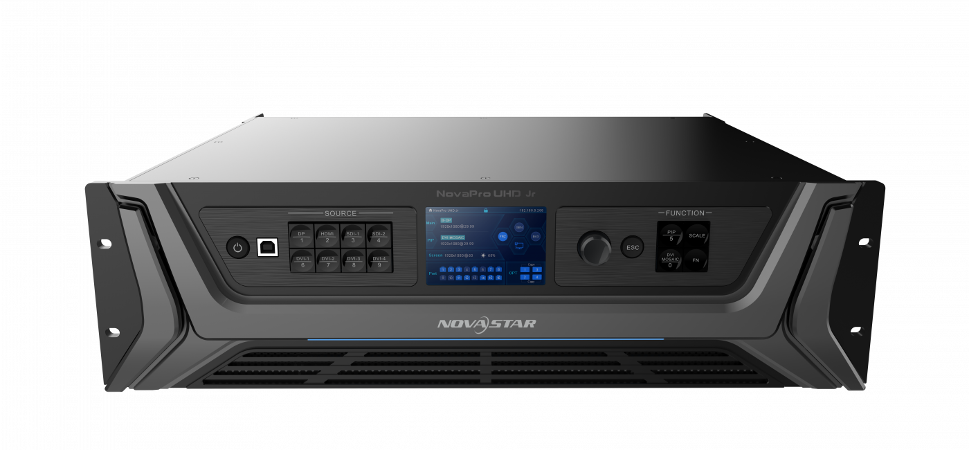 NovaPro UHD Jr Video Controller Combines 4K Processing and Transmission into One Device