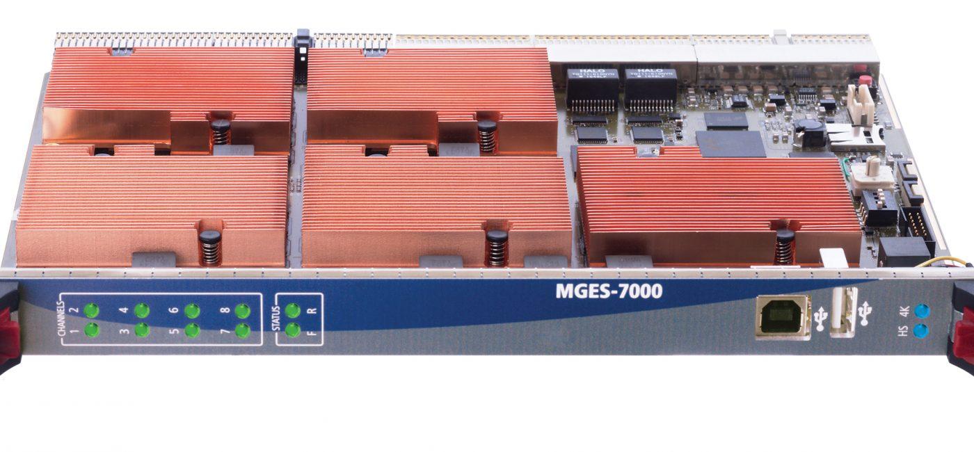 VITEC Launches MGES-7000 4K/UHD/HD HEVC IPTV Encoder at NAB 2019