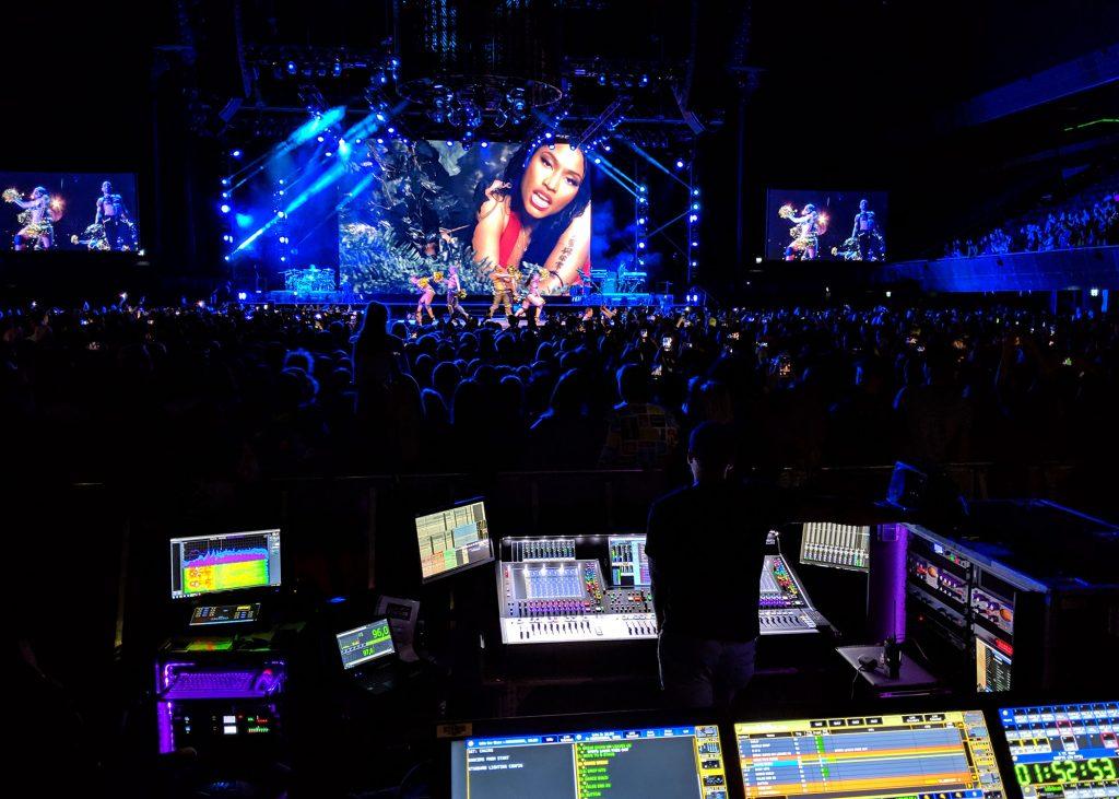 Nicki WRLD, Nicki Minaj tour, DiGiCo
