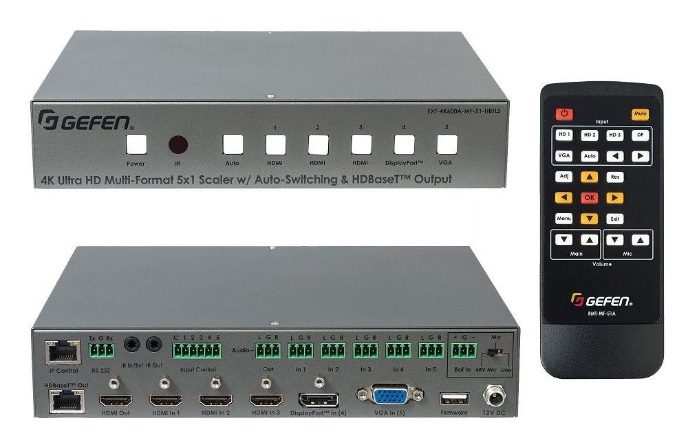 Gefen 4K Ultra HD 600 MHz Multi-Format Presentation Switcher Now Shipping