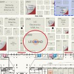 Legrand InfoComm 2019 map
