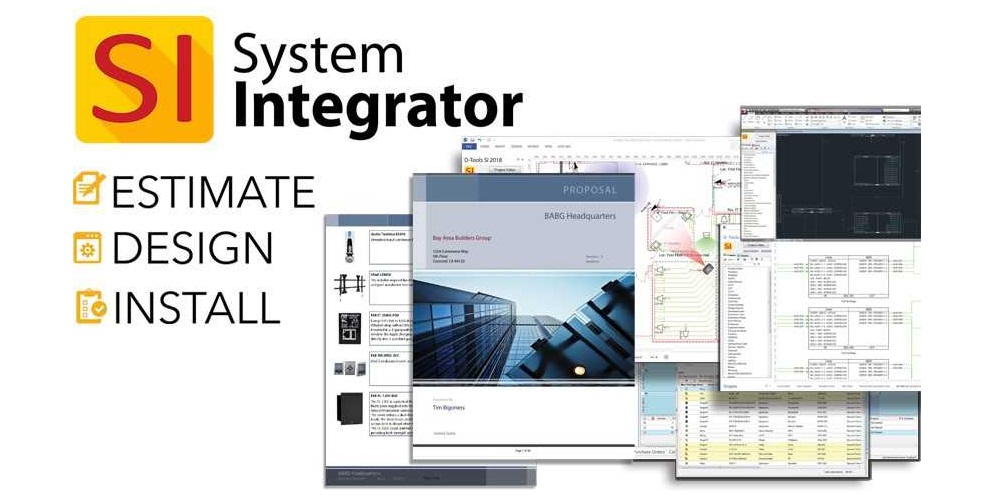 D-Tools InfoComm 2019 Preview: System Integrator V13