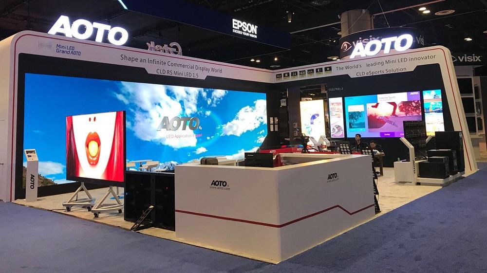 Aoto at InfoComm 2019 resized